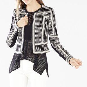 BCBGMAXAZRIA Duke embroidered jacket